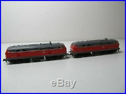 154N Fleischmann 77236 Doppeltraktion Diesellok BR 218 DCC Sound OVP