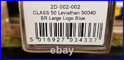 2d-002-002 DCC Sound Dapol N Gauge Class 50 040 Br Blue Lge Logo Esu Lsmicro V5