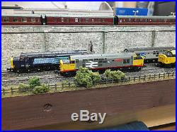 371-168 N Gauge Farish Class 37 506 Rf Red Stripe With DCC Sound Legoman Bif