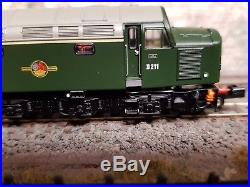 371-180 N Gauge Farish Class 40 D211 Br Green With DCC Sound & Cab Lights