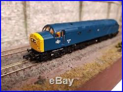 371-182 N Gauge Farish Class 40 40159 Br Blue With DCC Sound & Cab Lights