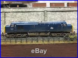 371-455 N Gauge Bachmann Farish Class 37 251 Br Blue DCC Sound Factory Weathered
