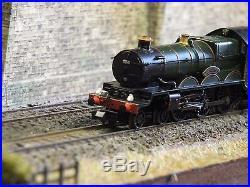 372-032 N Gauge Farish Castle Class 5070 Br Green Late Crest DCC Sound