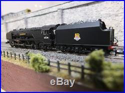 372-185 N Gauge DCC Sound Farish Coronation Class 46236 Bradford Br Black