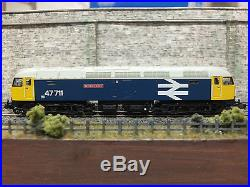 372-244 FARISH CLASS 47 47711'Greyfriars Bobby' BR BLUE DCC SOUND LOCOMOTIVE