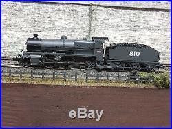 372-933 N Gauge DCC Sound Farish N Class 2-6-0 810 Secr Grey Oil Lamps Firebox