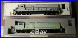 4 Used N Scale Atlas Locomotives, 2 Digital With Sound / 1 DCC Ready / 1 Not
