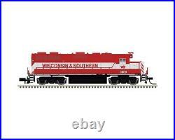 ATLAS 40003628 GOLD N GP38-2 Wisconsin & Southern WSOR #3810 Loksound DCC/SOUND