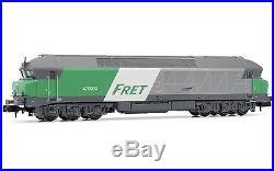 Arnold (N 1160) Diesel loco CC72000,'Fret', SNCF period V DCC Sound HN2385S