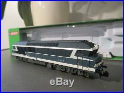 Arnold hn2244s diesel loco cc 72023 sncf epoca iv n gauge in blue dcc with sound