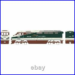 Athearn 15356 F59PHI with DCC & Sound Amtrak 466 N Scale