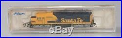 Athearn 16884 N Scale Santa Fe FP45 with DCC & Sound Freight/Warbonnet #5935 LN