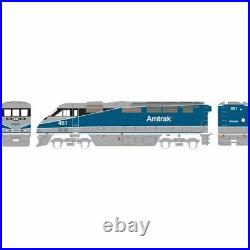 Athearn ATH15352 F59PHI Amtrak Pacific Srf #451 Locomotive withDCC & Sound N Scale