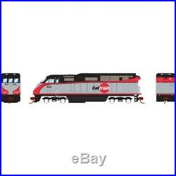 Athearn ATH6784 N Scale Locomotive F59PHI withDCC & Sound, Cal Train #924