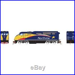 Athearn ATH6786 N Scale Locomotive F59PHI withDCC & Sound Northstar #501