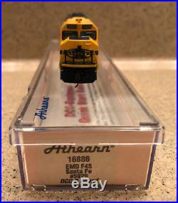 Athearn Emd F45 Santa Fe #5929 DCC Sound Equipped N Scale New