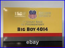 Athearn N Scale Union Pacific Big Boy 4-8-8-4 #4014 Promontory & Exc. DCC/Sound