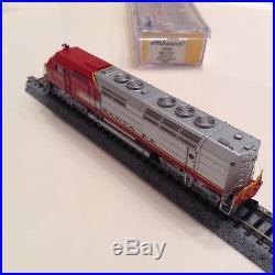 Athearn Santa Fe FP45 # 5947 DCC Tsunami Sound Amtrak N Scale ATSF 16892 SF