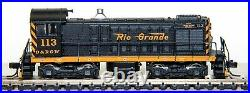 Atlas N Scale D&RGW Alco S2 Switch Locomotive #113 with DCC and SOUND-Used