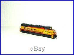 Atlas N Scale Sd50 Locomotive Sound & DCC Ready Chessie System B&o 40003935