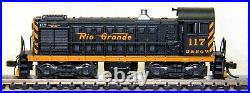 Atlas N Scale Union Pacific Alco S2 switch locomotive with DCC and Sound Used