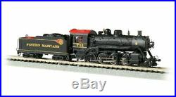 BACHMANN 51355 N SCALE Western Maryland 751 2-8-0 Consolidation DCC & SOUND