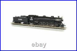 BACHMANN 53454 N SCAMissouri Pacific 5203 4-8-2 Light Mountain Steam DCC & SOUND
