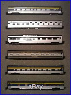 BLI/Centralia/WOT C&O (2)E-7AA DCC/SOUND + 10 CAR PASSENGER SET NIB N SCALE
