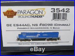 BLI (N-Scale/3542) NS/CONRAIL GE ES44AC #8098 SOUND/DC/DCC/ Rolling Thunder