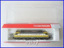 BRAND NEW FLEISCHMANN N GAUGE 738972 SWISS RAIL Rh487 LOCOMOTIVE + DCC SOUND