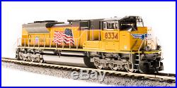 BROADWAY LIMITED 3467 N SD70ACe UP 8338 Building America Paragon3 Sound/DC/DCC