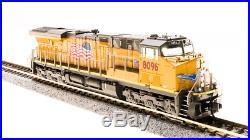 BROADWAY LIMITED 3552 N ES44AC UP 8104 Building America Paragon3 Sound/DC/DCC