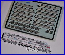 BROADWAY LIMITED 3599 + KATO 106056 Calif Zephyr N LOCO & 11 Cars DC/DCC/SOUND