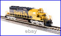 BROADWAY LIMITED 3701 N SD40-2 ATSF #5048 Yellow Bonnet Paragon3 Sound/DC/DCC