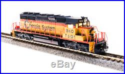 BROADWAY LIMITED 3705 N SCALE SD40-2 B&O #7601 Chessie Paragon3 Sound/DC/DCC