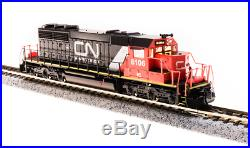 BROADWAY LIMITED 3707 N SD40-2 Canadian National 6106 Web IC Paragon3 Sound/DCC