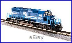 BROADWAY LIMITED 3709 N SD40-2 Conrail #6386 Blue & White Paragon3 Sound/DC/DCC