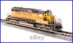 BROADWAY LIMITED 3715 N SCALE SD40-2 UP #3128 Paragon3 Sound/DC/DCC