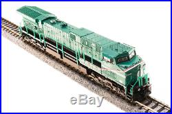 BROADWAY LIMITED 3748 N AC6000CW GE Demo #6000 Green Machine Paragon3 SOUND/DCC