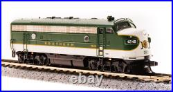 BROADWAY LIMITED 3809 N SCALE F7A SOU 4257 As-Delivd Grn Paragon3 Sound/DC/DCC