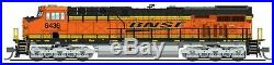 BROADWAY LIMITED 3890 N SCALE BNSF #6436 ES44AC Diesel PARAGON3 Sound/DCC