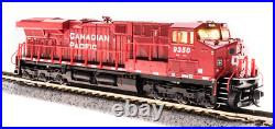 BROADWAY LIMITED 3894 N ES44AC CP 9350 Red/White Paragon3 Sound/DC/DCC