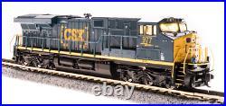 BROADWAY LIMITED 3896 N ES44AC CSX 977 Boxcar Scheme Paragon3 Sound/DC/DCC