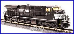 BROADWAY LIMITED 3900 N ES44AC NS 8132 BlK & Wht Paragon3 Sound/DC/DCC