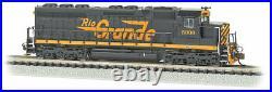 Bachmann-EMD SD45 withSound & DCC - Denver & Rio Grande Western #5336 black, Asp