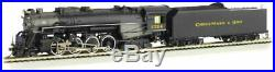 Bachmann-Kanawha-Type 2-8-4 Berkshire withSound & DCC - Chesapeake & Ohio #2724