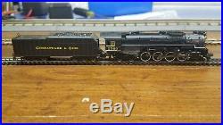 Bachmann N Scale 2-8-4 Berkshire Steam Loco & Tender C&O Kanawha #2760 DCC Sound