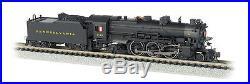 Bachmann N Scale 52852 K-4 4-6-2 Post-War Pennsylvania (PRR) #3750 DC/DCC/Sound