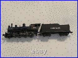 Bachmann N Scale Baldwin 4-6-0 Sound Value DCC Steam Loco. NEW Union Pacific