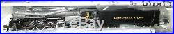 Bachmann N scale 2-8-4 Berkshire Sound & DCC hesapeake & Ohio #2724 50953